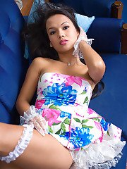 Ladyboy Amy Sweet Sundress