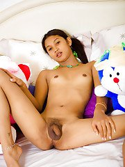 Ladyboy Lee Double Stuffed