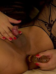 Pretty Asian tranny Patty has a very small cock and its kept shaved