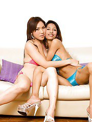 Ladyboy CANDY Seducing My Girlfriend