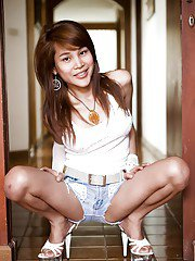 Ladyboy CHERRY Denim Short Doll