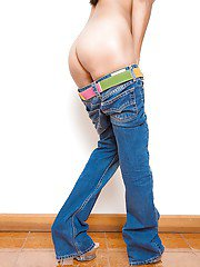 Ladyboy SUE Jeans and Heels