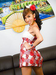 Ladyboy PINKY Adorable Girlfriend