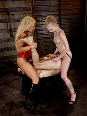 Latin shemale Jessica Host forces Sarah Jane Ceylon and bf to suck cock
