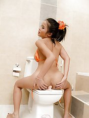 Ladyboy One Toilet Training