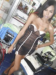 Ladyboy Nong Self Shot