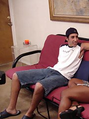 Slutty Asian ladyboy Naomi surprising her boyfriend with her big dick