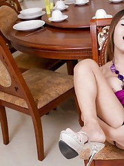 Ladyboy Jui Dinner Party