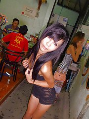 Ladyboy Noot Cotton candy self shot