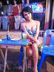 Ladyboy Candid Collection 1