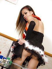 Ladyboy Wicky Queen of Hearts