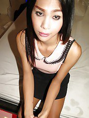 Awesome Thai ladyboy Chris gives her girlfriend a night of her life