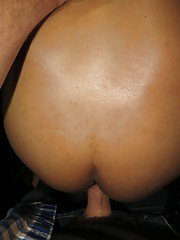 Bathroom bareback romp with an Asian shemale with a hairy crotch